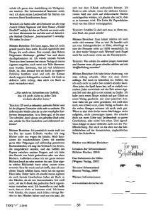 Presseartikel TextArt von Februar 2010 über das Buch Tor zum Schattenland von der Schriftstellerin Miriam Broicher - Seite 4