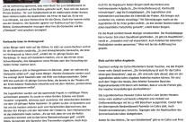 Presseartikel Brühler Bilderbogen zum Hörkino Tor zum Schattenland