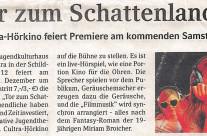 Presseartikel Brühler Schlossbote vom 15.12.2010