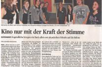 Presseartikel Kölner Stadtanzeiger vom 14.10.2010