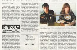 Presseartikel Kölnische Rundschau vom 17.12.2009