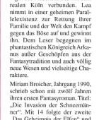 Presseartikel Rodenkirchen Kölner Bilderbogen Juni 2010