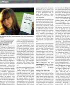 Presseartikel zum Buch Tor zum Schattenland